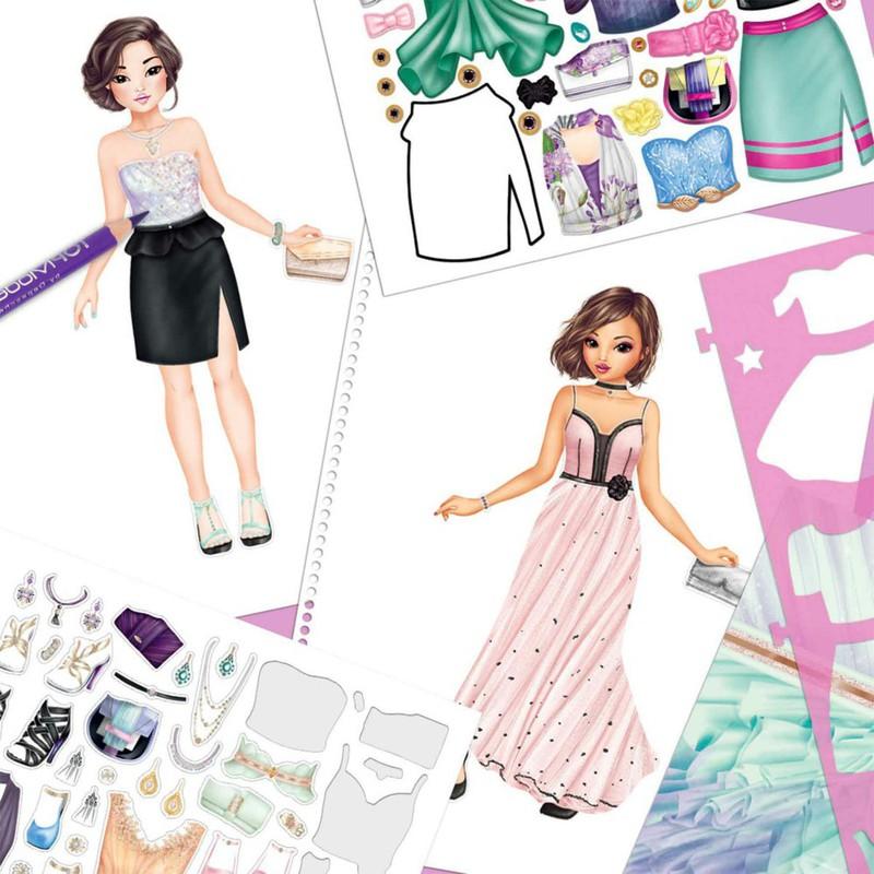 Creez Votre Special Glamour Livre De Coloriage Juguetesland
