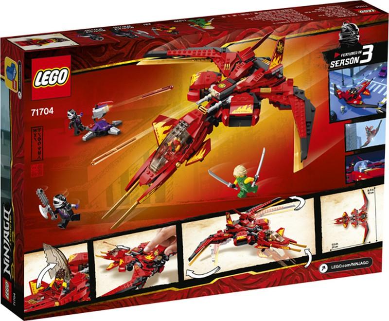 LEGO Ninjago / Legacy / Caza de Kai — Juguetesland